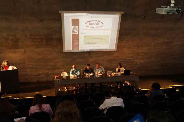 João Batista de Andrade, Jason Mafra, Edgar Coelho e Margarita Gomez 29.9.14