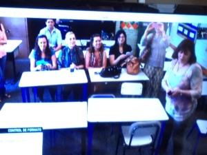 Miembros del módulo- experiencia con webconferencia en una escuela pública de Uruguay.